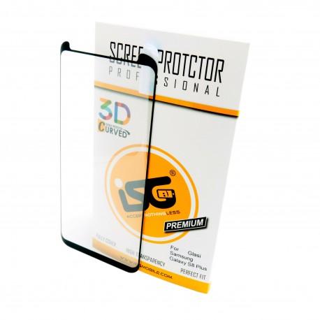 Защитное стекло iSG 3D Screen Protector Full Cover для Samsung Galaxy S8 Plus