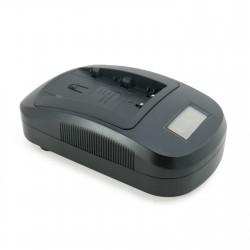 Зарядное устройство ExtraDigital DC-100 Sony NP-FM50, NP-FM70, Panasonic VM-BPL13, VM-BPL27, VW-AD1, JVC BN-V607, BN-V812 (LCD)
