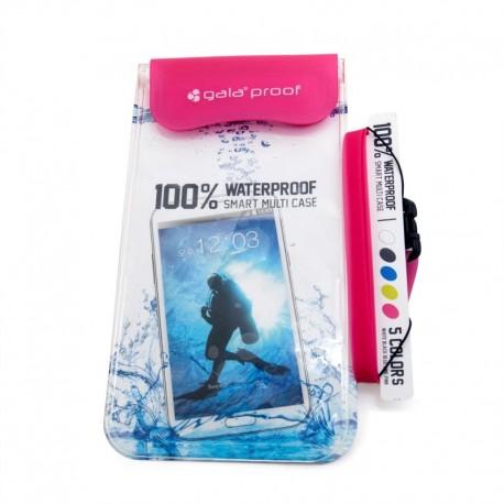 Универсальный Водонепроницаемый Чехол Gala Waterproof (Pink)