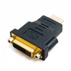 Переходник Extradigital DVI-D Dual Link (Female) - HDMI (Male)
