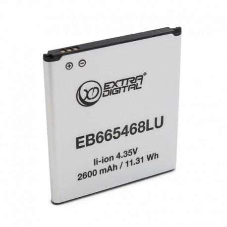 Аккумулятор ExtraDigital для Samsung Galaxy Grand 2 Duos G7102 (EB665468LU) (2600 mAh)