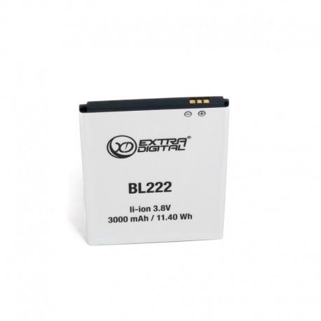 Аккумулятор для Lenovo BL222 (3000 mAh) - BML6370