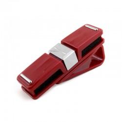 Автомобильный держатель для очков ExtraDigital Glasses Holder Red