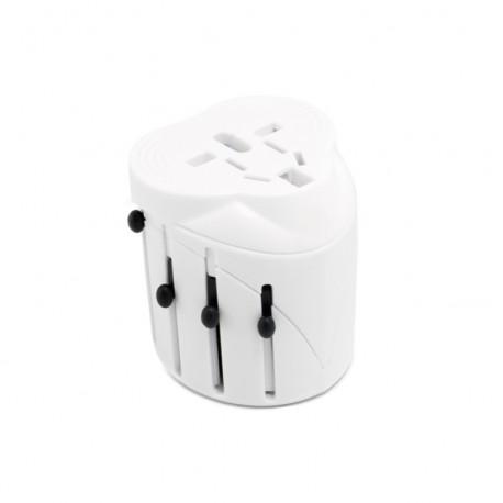 Сетевой дорожный универсальный адаптер ExtraDigital (White)