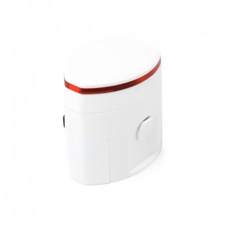 Сетевой дорожный универсальный адаптер ExtraDigital (2 х USB) (White)