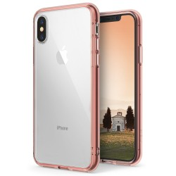 Чехол Ringke Fusion для Apple iPhone X Rose Gold (RCA4389)