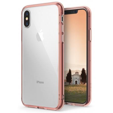 Чехол Ringke Fusion для Apple iPhone X Rose Gold (RCA4389)
