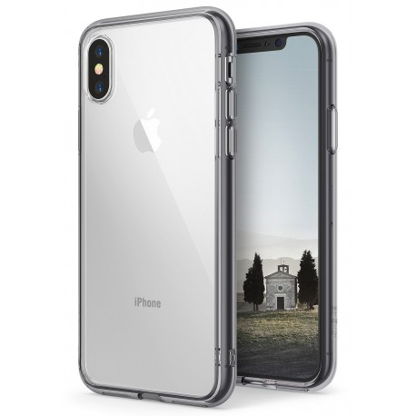 Чехол Ringke Fusion для Apple iPhone X Smoke Black (RCA4388)