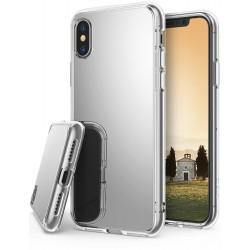 Чехол Ringke Fusion Mirror для Apple iPhone X Silver (RCA4390_
