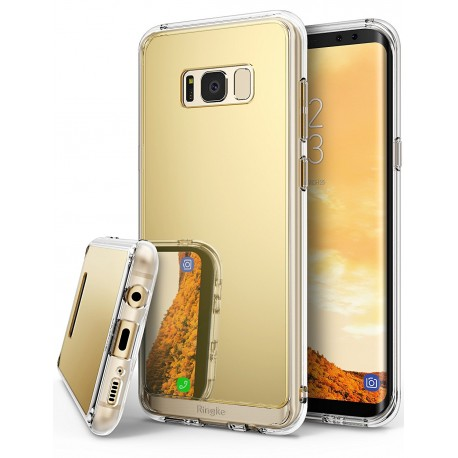 Чехол Ringke Fusion Mirror для Samsung Galaxy S8 Plus Royal Gold (RCS4386)