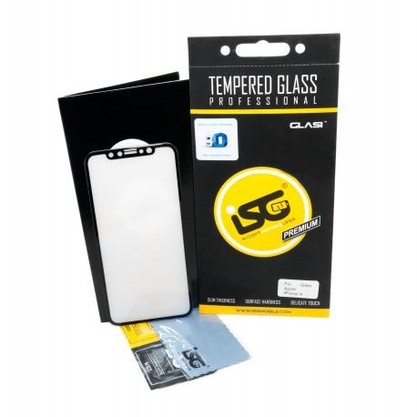 Защитное стекло iSG Tempered Glass 3D Full Cover для Apple iPhone X (Black) (SPG4407)