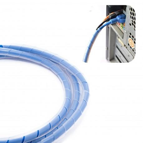 Органайзер для кабеля спиральный Cable twine CC-919 (White)