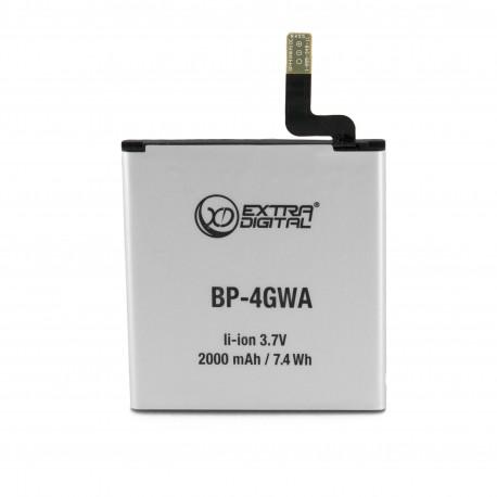 Аккумулятор Extradigital для Nokia BP-4GW (2000 mAh)