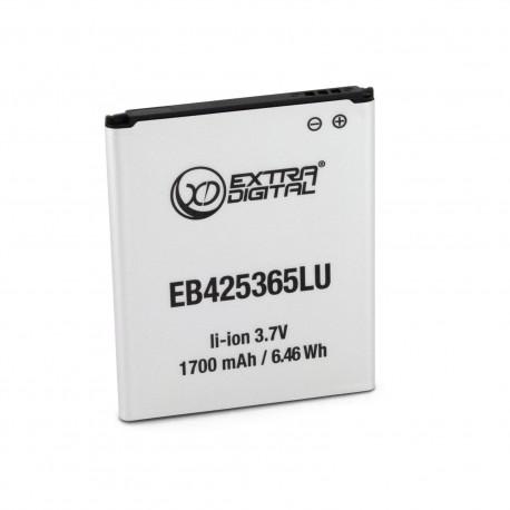 Аккумулятор ExtraDigital для Samsung GT-I8262D (EB425365LU) 1700 mAh