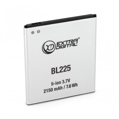 Аккумулятор ExtraDigital для Lenovo S580 (BL-225) 2150 mAh