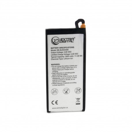 Аккумулятор ExtraDigital для Samsung Galaxy J5 2017 (EB-BJ530ABE) 3000 mAh