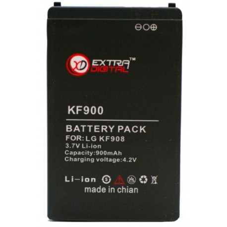Аккумулятор для LG KF900 (900 mAh) - DV00DV6060