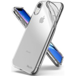 Чехол Ringke Air для Apple iPhone XR (Clear) (Slot card case+Lanyard strap)