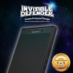 Защитная пленка Ringke Full Cover для телефона Sony Xperia XZ1 Compact (RPS4513)