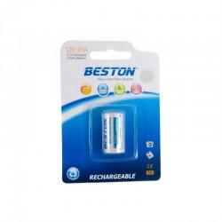 Батарейка Beston CR123A 600mAh Lithium
