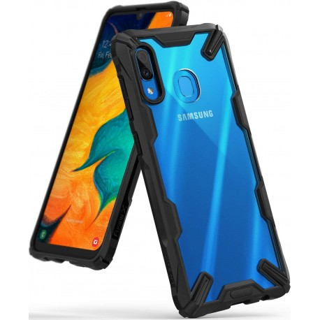 Чехол Ringke Fusion X для Samsung Galaxy A30 Black (RCS4522)