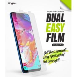 Защитная пленка Ringke Dual Easy Film  для телефона Samsung Galaxy A70 (RPS4541)