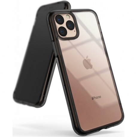 Чехол Ringke Fusion для Apple iPhone 11 Pro Мах SMOKE BLACK (RCA4607)