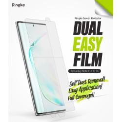 Защитная пленка Ringke Dual Easy Film  для телефона Samsung Galaxy Note 10 (SM-N970FZRDSEK) / 10 5G (RPS4621)