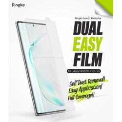 Защитная пленка Ringke Dual Easy Film  для телефона Samsung Galaxy Note 10 Plus (SM-N975FZKDSEK) / 10 Plus 5G (RPS4621)