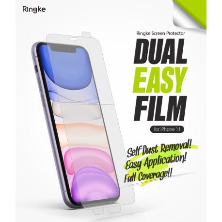 Защитная пленка Ringke Dual Easy Film  для телефона Apple iPhone 11 (RPS4618)