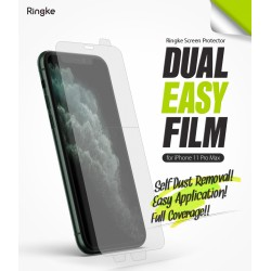 Защитная пленка Ringke Dual Easy Film  для телефона Apple iPhone 11 Pro Max / iPhone XS Max (RPS4620)