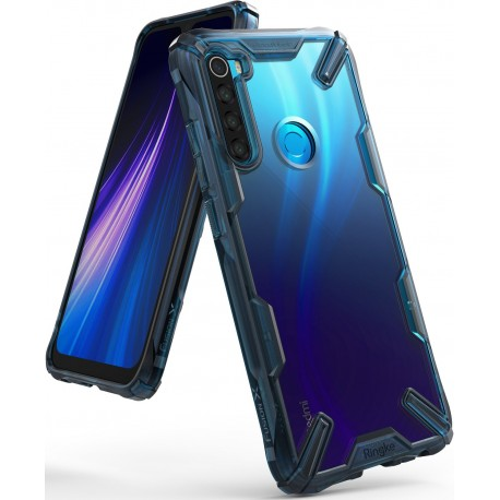 Чехол Ringke Fusion X для Xiaomi Redmi Note 8 SPACE BLUE