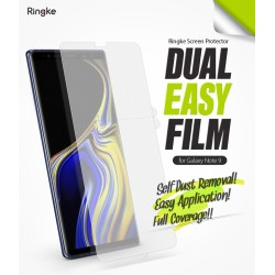 Защитная пленка Ringke Dual Easy Full  для телефона Samsung Galaxy Note 9 (RPS4633)