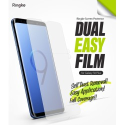 Защитная пленка Ringke Dual Easy Full  для телефона Samsung Galaxy S9 Plus (RPS4634)