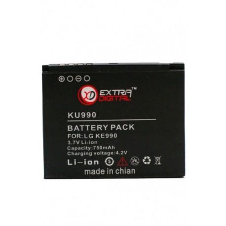 Аккумулятор для LG KU990 (750 mAh) - DV00DV6069