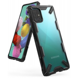 Чехол Ringke Fusion X для Samsung Galaxy A51 2019 Black (RCS4692)