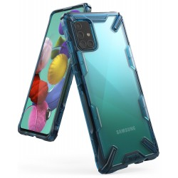 Чехол Ringke Fusion X для Samsung Galaxy A51 2019 Spacle Blue (RCS 4693)