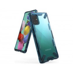 Чехол Ringke Fusion X для Samsung Galaxy A71 2019 Spacle Blue (RCS4695)