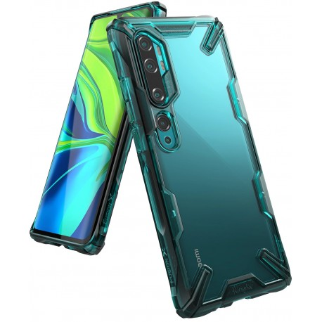 Чехол Ringke Fusion X для Xiaomi MI NOTE 10/NOTE 10 Pro 2019 TURQUOISE GREEN (RCX4697)