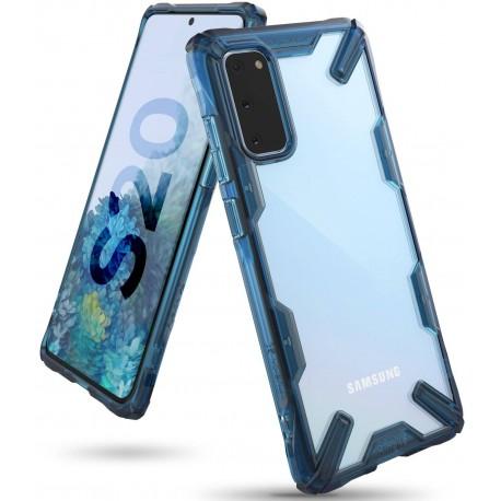 Чехол Ringke Fusion X для Samsung Galaxy S20 Spacle Blue (RCS4700)