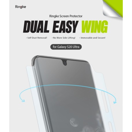 Защитная пленка Ringke для телефона Samsung Galaxy S20 Ultra (RCS4706)