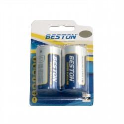 Щелочные батарейки Beston D (LR20) 2 шт