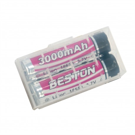 Аккумулятор Beston 18650 3000mAh Li-ion, 2шт