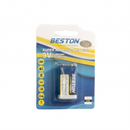 Щелочная батарейка Beston CR-9V 6LR61Alkaline