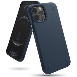 Чехол Ringke Onyx для Apple iPhone 12/12 Pro Navy (RCA4791)