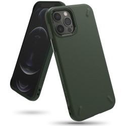 Чехол Ringke Onyx для Apple iPhone 12/12 Pro Dark Green (RCA4792)