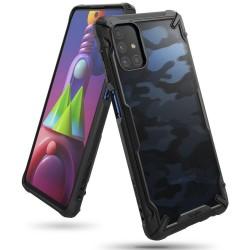 Чехол Ringke Fusion X для Samsung Galaxy M51 CAMO BLACK (RCS4804)