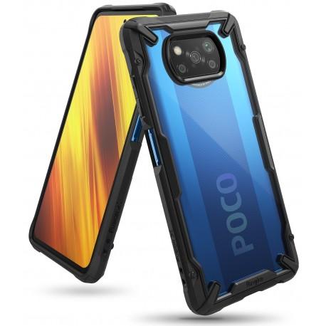 Чехол Ringke Fusion X для Xiaomi Poco X3 NFS Black (RCS4805)