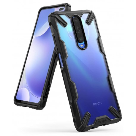 Чехол Ringke Fusion X для Xiaomi Redmi K30 / K30 5G / POCO X2 Black (RCX4813)