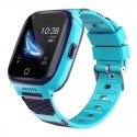 Смарт часы детские с GPS трекером Extradigital 4G WTC05 Синий / Голубой